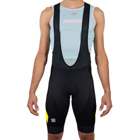 Sportful Neo Bib Shorts Men black yellow fluo